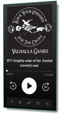 "Podcast EP7: ""Knightly order of the  frosted (varnish) seal"""