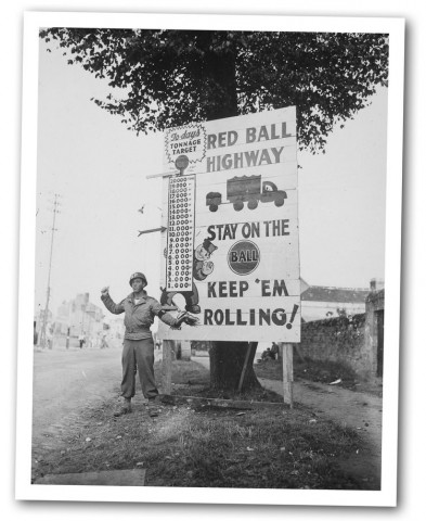 Friday photo: Red Ball Highway