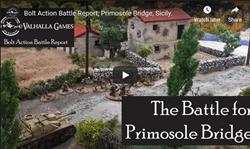 Video battle report - The Battle for Primosole Bridge